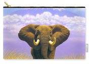 Elephant At Table Mountain Carry-all Pouch
