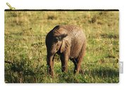 Elephant Calf Carry-all Pouch