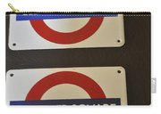 Elephant Castle And Leicester Square Carry-all Pouch