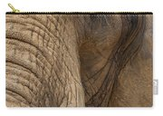 Elephant Close Up Carry-all Pouch