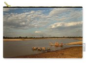 Elephant Crossing Carry-all Pouch
