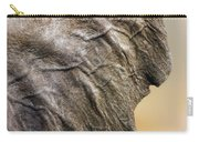 Elephant Ear Close-up Carry-all Pouch by Johan Swanepoel
