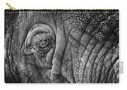 Elephant Eye Carry-all Pouch by Sebastian Musial