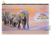 Elephant Fantasy Must Open Carry-all Pouch
