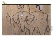 Elephant Graffiti Carry-all Pouch