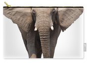 Elephant Isolated Carry-all Pouch