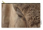 Elephant Lashes Carry-all Pouch