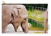 Elephant Open Mouth Carry-all Pouch