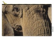 Elephant Portraint Carry-all Pouch
