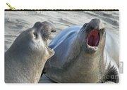 Elephant Seals - San Simeon California Carry-all Pouch