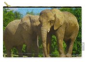 Elephant Snuggle Carry-all Pouch