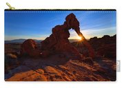 Elephant Sunrise Carry-all Pouch by Chad Dutson