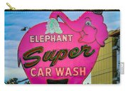 Elephant Super Car Wash Carry-all Pouch