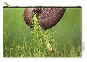 Elephant Trunk Pulling Grass Carry-all Pouch