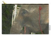 Elephant Under His Thumb Carry-all Pouch