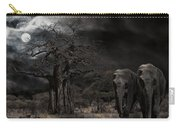 Elephants Of The Serengeti Carry-all Pouch