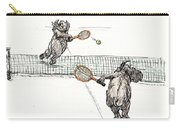 Elephants Playing Tennis Carry-all Pouch