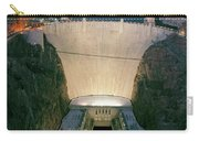 Elevated View At Dusk Of Hoover Dam Carry-all Pouch