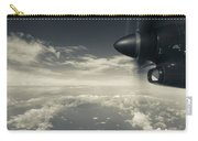 Elevated View Of Caribbean Sea Carry-all Pouch