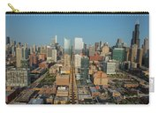 Elevated View Of Cityscape, Lake Street Carry-all Pouch