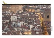 Elevated View Of Florence Carry-all Pouch