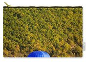 Elevated View Of Hot Air Balloon Carry-all Pouch