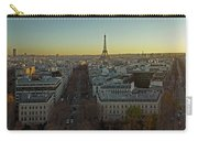 Elevated View Of Paris From Arc De Carry-all Pouch