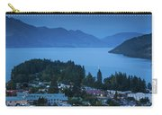 Elevated View Of Town At Dawn Carry-all Pouch