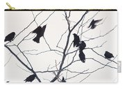 Eleven Birds One Morsel Carry-all Pouch