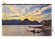 Elgol Beach At Sunset Carry-all Pouch