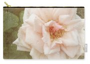 Elie Beauvillain Rose Textured Art Carry-all Pouch