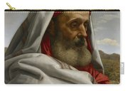 Eliezer Of Damascus Carry-all Pouch by William Dyce