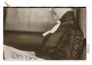Elizabeth Bacon Custer (1844-1933) Carry-all Pouch
