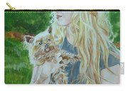 Elizabeth South And Ginger Carry-all Pouch