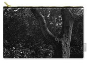 Elizabethan Gardens Tree In B And W Carry-all Pouch