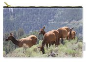 Elk Family - Yellowstone N P Carry-all Pouch