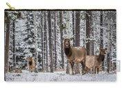 Elk In Jasper Carry-all Pouch