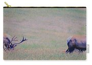 Elk On The Plains 1 Carry-all Pouch
