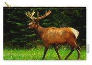 Elk Portrait Carry-all Pouch