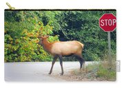 Elk Right Of Way Carry-all Pouch