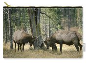 Elks Sparring Yellowstone Np Wyoming Carry-all Pouch