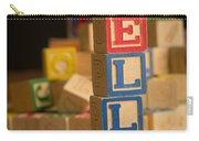 Ella - Alphabet Blocks Carry-all Pouch