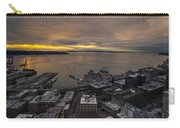 Elliott Bay Seattle Evening Carry-all Pouch