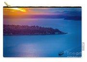 Elliott Bay Sunset Carry-all Pouch