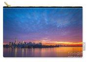 Ellis Island And Manhattan Sunrise Carry-all Pouch