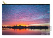 Ellis Island Silhouette Sunrise Carry-all Pouch