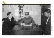 Ellis Island: Testing, C1914 Carry-all Pouch