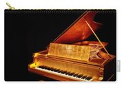 Elvis' Gold Piano Carry-all Pouch