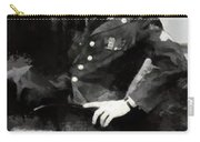 Elvis In Uniform Carry-all Pouch