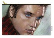 Elvis King Of Rock And Roll Carry-all Pouch